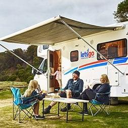 Lets Go Motorhomes Family Gathering - RV Rentals - Love Caravan & Camping NSW
