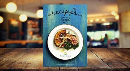 Recipes for the Road - Breakfast, Lunch, Dinner - Best Caravan Camping NSW