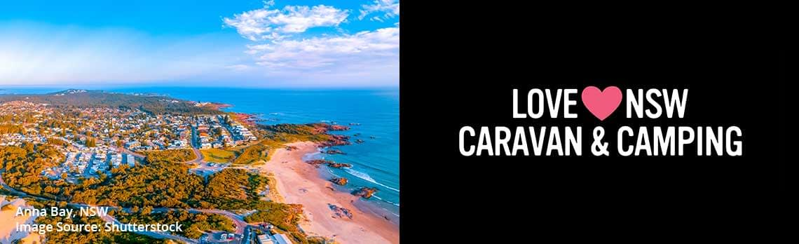 One Mile Beach & Anna Bay - Love NSW Caravan & Camping