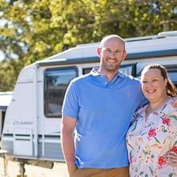 Couple Caravan Camplify - RV Rentals - Love Caravan & Camping NSW