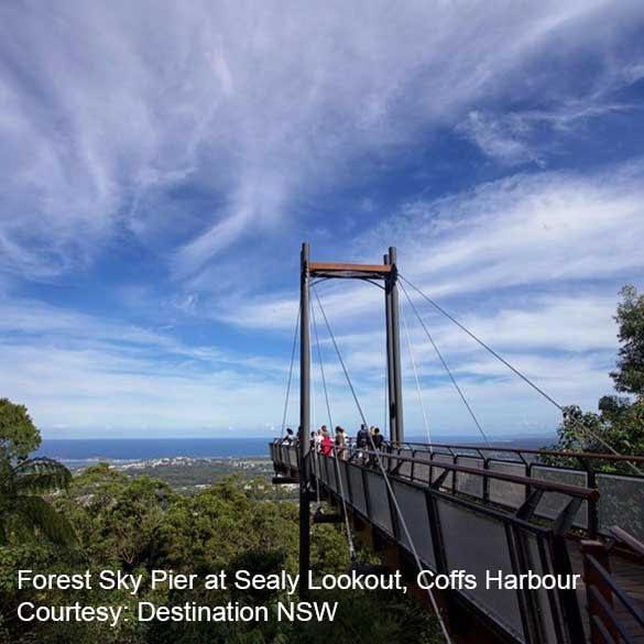 Coffs Coast Clarence Coast Forest Sky Pier