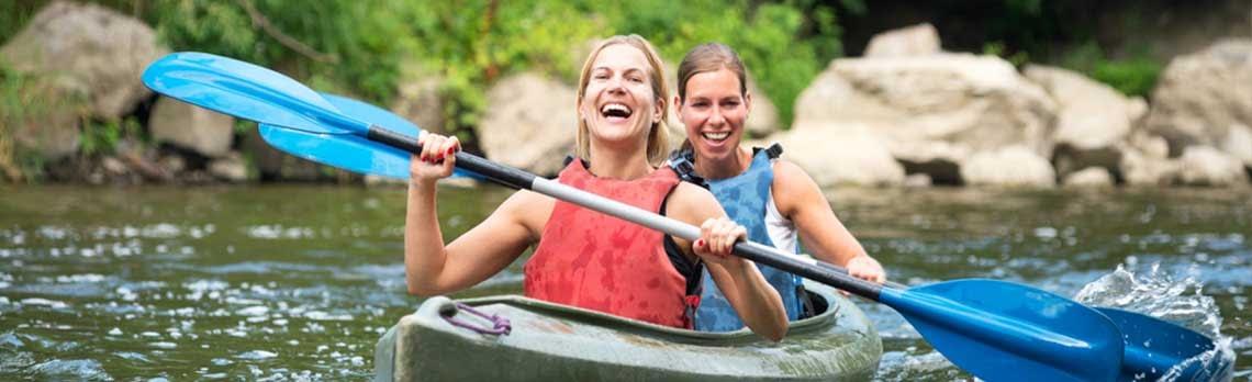 What to take on a Kayaking Trip - Best Caravan Camping NSW