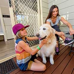 Holiday Parks Pet Friendly Cabin Kids - Caravan Camping NSW