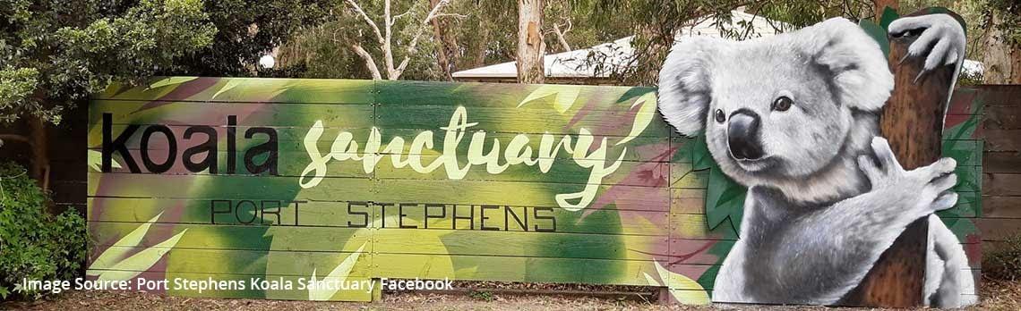 Port Stephens Koala Sanctuary now open | Best Caravan Camping NSW