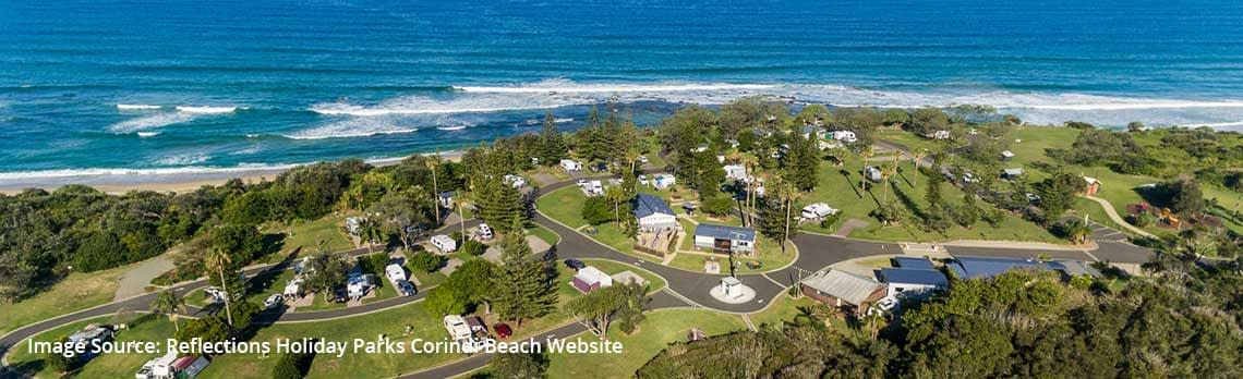 Reflections Holiday Parks Corindi Beach Voted the Best of the Best by Guests | Best Caravan Camping NSW