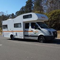 Britz Motorhome - RV Rentals - Love Caravan & Camping NSW