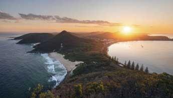 Port Stephens   The Legendary Pacific Coast Drive   Love Caravan Camping NSW