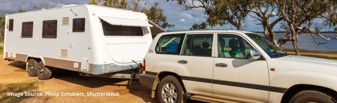 Levelling Your RV - Caravan Camping NSW